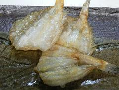 開笹カレイ から揚げ